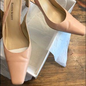 05ed35d15 Karen Scott Shoes - Karen Scott Fawn Color High Heel Pumps